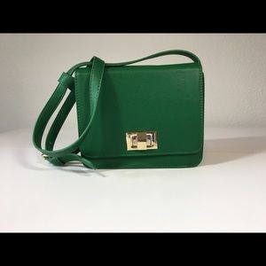 Forever 21 Green Crossbody Purse